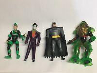 Batman DC comic books action figure lot, comic book toys, Batman, And Joker