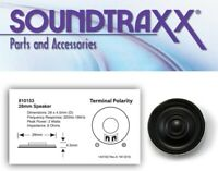 """Soundtraxx 810153 - 28mm (1"""") Round Speaker for N or HO Scale DCC / SOUND"""