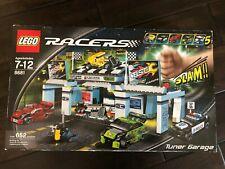 LEGO 8681 Racers Tuner Garage - BRAND NEW SEALED