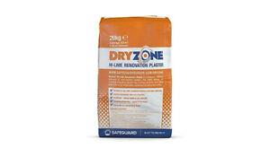 Dryzone Hi-Lime Renovation Plaster - 20kg