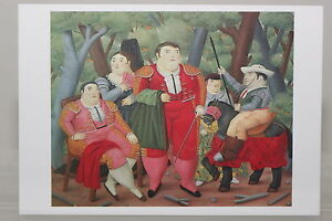 Fernando Botero Bester Freund des Menschen Poster Kunstdruck Bild 58x49cm