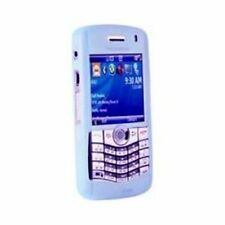 LIGHT BLUE SILICONE CASE SKIN COVER for Blackberry Pearl 8100 8120 8130