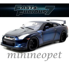 JADA 64018 W8 THE FAST AND FURIOUS BRIAN'S NISSAN SKYLINE GT-R R35 1/18 BLUE