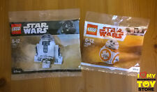 IN STOCK - LEGO STAR WARS™ POLYBAG 30611 R2-D2™ 40288 BB-8™ (2017, 2018) - MISB