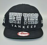 New York Yankees New Era 9FIFTY MLB Spell Out Snapback Cap Hat