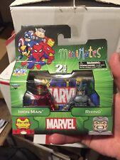 Marvel Minimates TRU Series 14 Rhino Iron Man RARE!