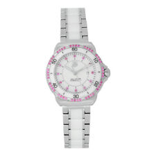 NEW Tag Heuer Formula 1 WAH1319.BA0868 Ceramic Ladies Quartz Pink Sapphire Watch