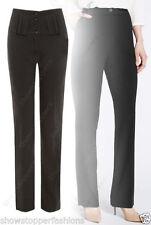 Pantaloni da donna a gamba dritta taglia M