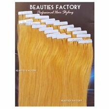 Super Adhesive Tape in Weft Human Hair Extensions Salon #27 Honey Blond Hair508