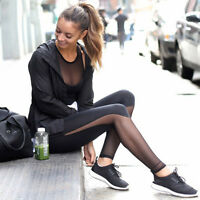 Women Yoga Sports Running Pants Leggings Stretch Fitness Trousers Gym Clothes UK