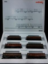 Set seis vagones de mercancías Marklin ref. 46021