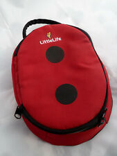 LittleLife Animal Child Lunch Pack Ladybird - Kids Lunch Bag Insulated Lunch Box