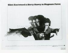 CLINT EASTWOOD PHILIPPE HALSMAN MAGNUM FORCE 1973 VINTAGE PHOTO ORIGINAL #1
