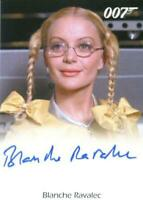 James Bond Archives 2015 Edition Blanche Ravalec as Dolly Autograph Card