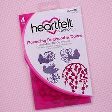 Heartfelt Creations Cut &Emboss Dies Flowering Dogwood & Doves, HCD1 7131