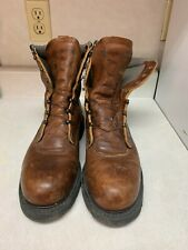 Red Wing Steel Toe Boots ASTM F 2413-11 Men's Size 10 Made in USA