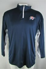 Oklahoma City Thunder NBA Men's Big & Tall 1/4 Zip Pullover Track Jacket