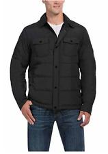 NWD 32 Degrees Heat Men's Down Shirt Jacket Iron Melange Size XL X-Large