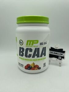MusclePharm Essentials BCAA Powder, Fruit Punch, 60 Servings EXP9/22 FREE SHIPP