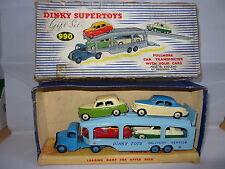 Dinky pullmore Coche Transportador con 4 Autos-GS 990 Set