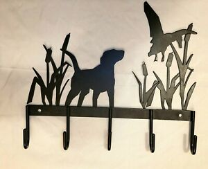 Wall Mounted Metal Dog Leash Hooks Key Holder for Wall Entryway Decorative