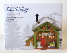 Dept 56 Snow Village Home Away From Home Fish Shack New 4056685