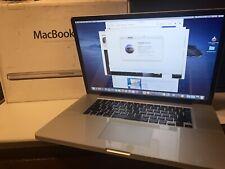 "Apple MacBook Pro 17"" Laptop mid 2009 - 2.8 Ghz Processor Upgraded"