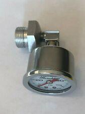 1969-1978 cb750 honda oil pressure gauge kit with WHITE face gauge cb 750