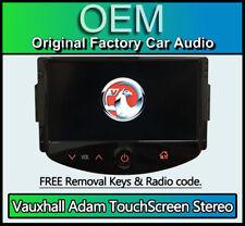 Vauxhall Adam Touchscreen car stereo, Bluetooth Handsfree, DAB Radio, AUX USB