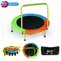 HLC Multi-Colored Collapsible Baby Trampoline with Handle Kids Gift Toy Sport