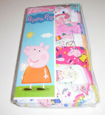 Peppa Pig Cotton Undies 7 Panties Underwear Underpants Toddler Girls 4T NIP