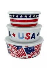 Celebrate Americana Together 3Pc Nesting Container Set w/ Lids
