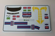 "Brabham BT44B Carlos Pace "" Figure Decals "" 1975 1/18"