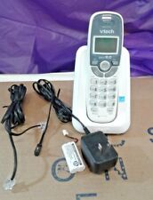 VTech CS6114 DECT 6.0 Digital Cordless Phone With Caller ID/Call Waiting - White