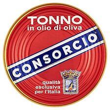 TONNO IN SCATOLA CONSORCIO IN OLIO D'OLIVA LATTA DA 111 GR SCATOLA LATTINA