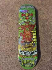 Creature Skateboards Seven Deadly Sins Partanen