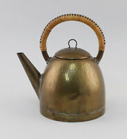8633027 Bauhaus Art Nouveau Brass Jug Water Kettle