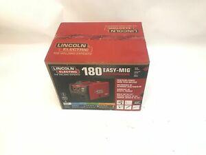 SEALED Lincoln Electric Easy MIG 180 Welder-180 Amps 230V #K2698-1