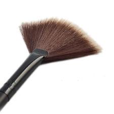 1Pc Highlighter Slim Fan Shape Powder Concealor Blend Foundation Makeup Brush IL