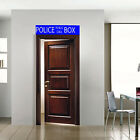 Doctor Who Tardis Police Box sign Waterproof Toilet Wall Windows Door Sticker