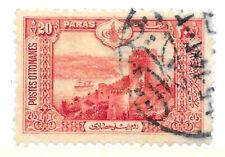 Turkey, Ottoman Empire 20 Paras Postage Stamp, 1916, fine used