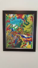 abstract art Acrylic Painting Canvas Wall Decor Unframed Original Picture