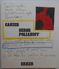 Serge Poliakoff - Cahier - Erker - 1973