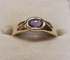 Gold Ring mit Amethyst    anschauen!
