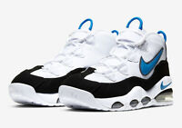 Nike Air Max Uptempo '95 White Black CK0892-103 Basketball Shoes Men's Size 9.5