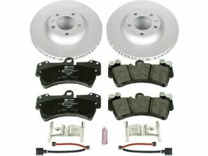 Front Power Stop Brake Pad and Rotor Kit fits Audi Q7 2007-2015 67RNWM