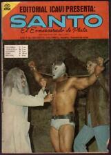 silver-masked El Santo el enmascarado de plata hold up comic book Yr.1 #19