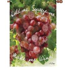 MAKE ME WINE Standard Size Flag from Premier Designs - 28'' X 40'' | 52914