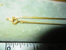 Sterling Silver 925 Gorham flower Pendant Necklace vermeil