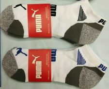 10 Pairs Ankle Low Cut Puma Mens Boys Sports Running Socks  Size 8-12